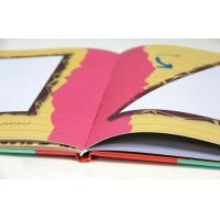 Full Color Hardcover Book Printing Services / Walt Disney Printing For Kids Manufactures