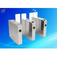 304 Stainless Steel Outdoor Flap Barrier Turnstile Noiseless Speed Security Gate Manufactures