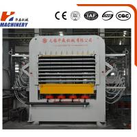Primarily Melamine Faced Particle Board Hot Press Machine For Woodworking Machinery Manufactures