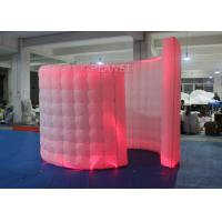 Spiral Blow Up Photo Booth Two Doors With Doorway -20 To 60 Degrees Working Temp Manufactures
