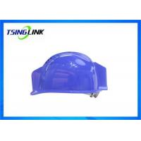 H.264 Coding Head Protective 4G Wireless Device With 1080P Resolution Camera Lamp Manufactures