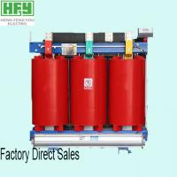China Red Single/ three phase dry Type Transformer 11kv 20kv Power Distribution Voltage 2500kVA on sale