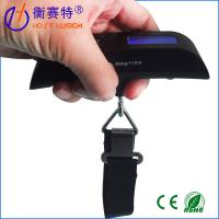 Buy cheap Electronic digital luggage scale fishing scale 50kg,fishing portable scale from wholesalers