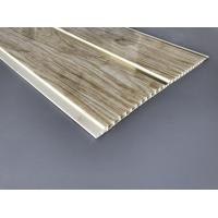 Quality Customized Plastic Bathroom PVC Wood Panels , Bathroom Ceiling Cladding Panels for sale