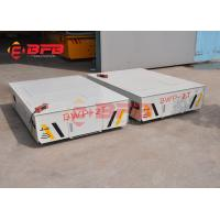 Steerable Transfer Cart without rails, Remote Control Powered Material Handling Equipment Manufactures