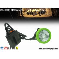 Explosion Proof Underground Coal Mining Lights , Safety Hard Hat Headlamp 50000 Lux 5w Cree Led Manufactures