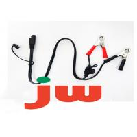 Chrome Aluminum Battery Charger Wire Harness For Auto Motorcycle Parts Manufactures