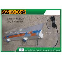Quality Plastic Waterfall Blade Water Fountain Equipment Various Sizes Outdoor Decoration for sale