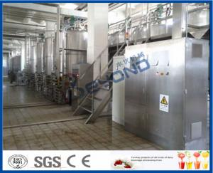 Skid Frame  SUS304 Dairy Industrial Yogurt Making Machine small scale Manufactures