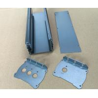 Sand Acid Oxidation Aluminium Enclosures Aluminum Heat Sink 48*148*130 mm Manufactures