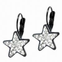 Star Earrings, Customized Sizes and Logos Welcomed Manufactures