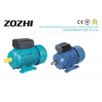 Aluminum IP54 1.5kw 2hp Single Phase Electric Motor Manufactures