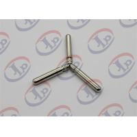 Knurling Nickel Plating Turned Metal Parts Lathe Finishing Round Head Copper Pins Manufactures