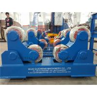 Standard 10T Pressure Vessel Vessel Turning Rolls / Pipe Rotators For Welding Manufactures
