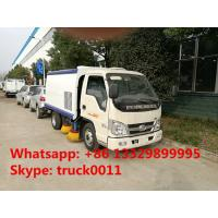 cheapest price FORLAND MINI 4*2 mini ROAD SWEEPER TRUCK FOR SALE,hot sale forland mini RHD diesel street sweeper truck Manufactures