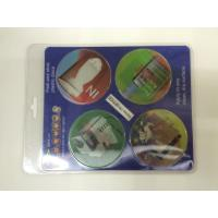 2 Phase Flipping 3D PET Custom Hologram Stickers Full Color Printing For Car Manufactures