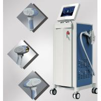 Effective 808nm Diode Laser Facial Hair Removal Equipment Painfree For Women Manufactures