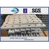 Buy cheap TUV Oxide Black Forging 4 Holes 50# Joint Bar Fishplates In Railway Tracks from wholesalers