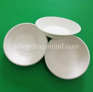 Biodegradable Disposable Sugarcane Pulp Paper Bowl, Food Grade, 460ml Manufactures