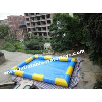 High quality 0.6MM PVC Tarpaulin aqua Inflatable Water Pools for Beach Sports Games Manufactures