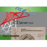 Quality MS SQL Windows Server 2016 Standard Key License X20-96930 Embedded Std OPK Package for sale