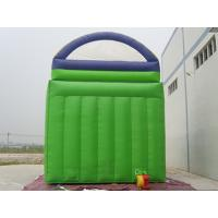 Quality Kids Backyard Inflatable Water Slide With Pool PVC Tarpaulin CE Certificate Blower for sale