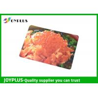 Colorful Printed Dining Table Placemats Anti Slip OEM / ODM Available 45X30CM Manufactures