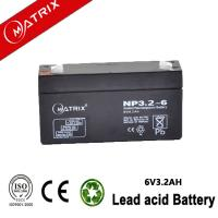 6V 3.2AH AGM BATTERY Manufactures