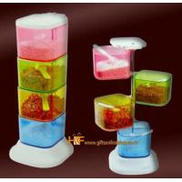 Colorful Kitchenware 360 Spice Cup Case Christmas Gift Manufactures