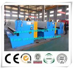 3200mm Swing Type Hydraulic Sheet Cutting Machine , NC Steel Plate Shearing Machine Manufactures
