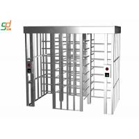 Standard Fire Interface Full Height Automatic Turnstile Mechanism Manufactures