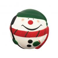 Slow Rising Santa Clause Snow Man Squeeze Stress Ball Christmas Squishy Toys Manufactures