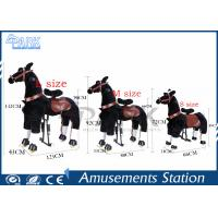 Shopping Mall Kiddy Ride Machine Lovely Kids Horse Ride With Varity Design Manufactures