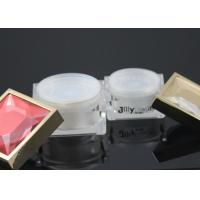 50 Ml Face Cream Jars Wholesale PMMA Edge Gold Empty Cosmetic Jars Manufactures