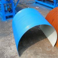 Portable Metal Roofing Corrugated Roll Forming Machine With 5T Hydraulic Uncoiler Manufactures