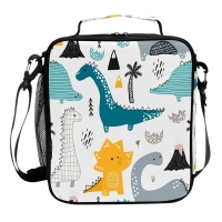 Buy cheap Dinosaur PEVA Lining Insulated Lunch Cooler Bags For Kids from wholesalers
