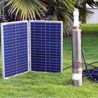 solar sunshine light with water pump smart system irrigation system with factory price Manufactures