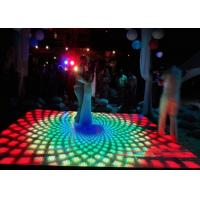 P4.81mm Video Dance Interactive LED Floor 3D Effect Stage Lighting For Wedding Christmas Manufactures