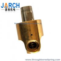 Threaded connection Heat Oil Hydraulic Rotary Union Single input / output line Manufactures