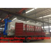 CLW brand 8m3-40m3 bulk feed tank container mounted on cargo truck for sale, HOT SALE cargo truck with feed tank Manufactures