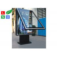 Quality Dual Sided LED Outdoor Light Box Waterproof With Built In Stander For Street for sale