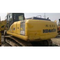 Komatsu PC200 Second Hand Construction Equipment 93% UC 20253kg Operation Weight Manufactures