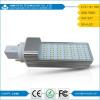 High Efficiency G24 LED Bulb, 6W 90lm/W Cool White G24 LED Light For Indoor Lighting Manufactures