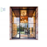 Customized Aluminium Casement Door Combined Sunroom House ISO9001-2008 Manufactures