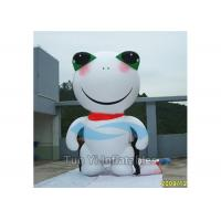 Durable Frog Giant Advertising Inflatable Cartoon Characters Fire Resisitant Manufactures