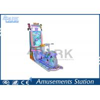 Double Player Kiddy Ride Machine , Simulator Coin Operated Machine Manufactures