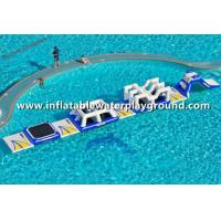 Huge Inflatable Water Park Rentals , Inflatable Water Sports For Kids Party Manufactures