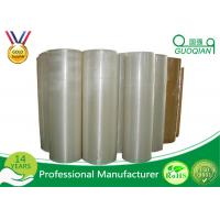 1280mm*4000m Bopp Jumbo Roll Tape Acrylic Crystal Clear for Carton Sealing Manufactures
