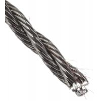3x7 Hollow Core 316 stainless steel wire rope for anchor mooring , salvage operations Manufactures