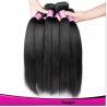 Hot Sales Black Hair Weft Straight Virgin Brazilian Hair Natural Color Black Hair Manufactures